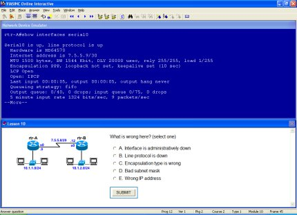 Braini Academic - e-Learning System Demo - CCENT Prep